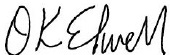 Signature of Daniel K. Elwell, the Acting Administrator of the Federal Aviation Administration.